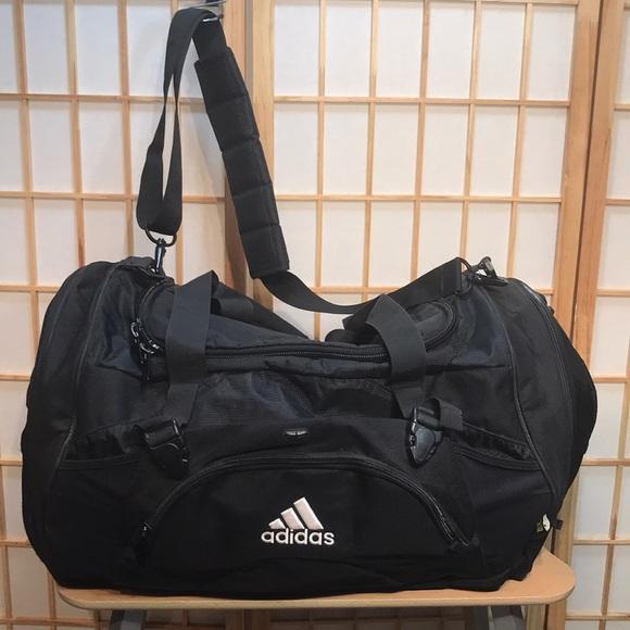 9d55f205ae12d1 adidas Bags | Mens Black Gym Bag | Poshmark